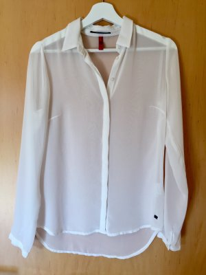 QS by s.Oliver Blouse-chemisier blanc