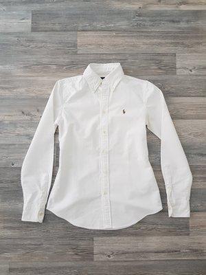 Weiße Bluse von Ralph Lauren