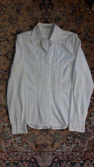 Weiße Bluse von Rene Lezard in Gr 34