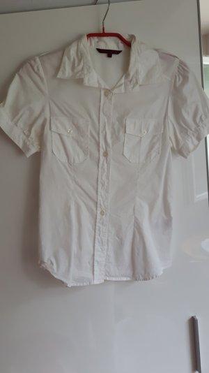 weiße Bluse von Review