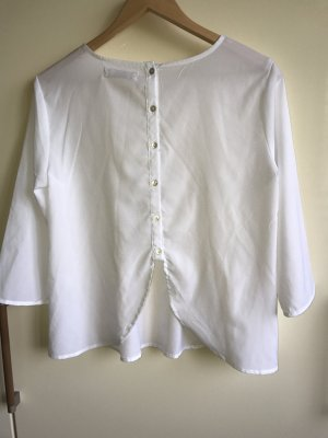 weiße Bluse von Stradivarius