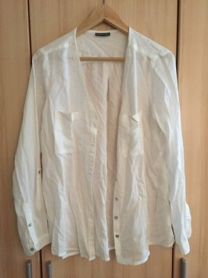 Weiße Bluse von Street One Business Sommer
