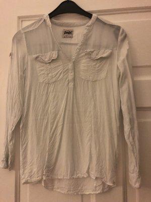 Weiße Bluse von Superdry