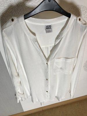 weiße Bluse von Vero Moda Größe M