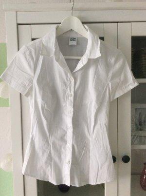 Weiße Bluse von Vero Moda tailliert