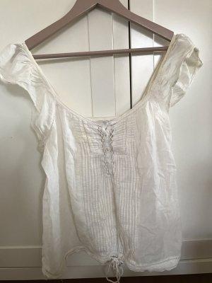 Weiße Bluse von ZARA