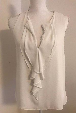 Weiße Bluse von zara in Größe L