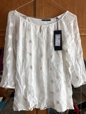 Weiße Bluse von Zero