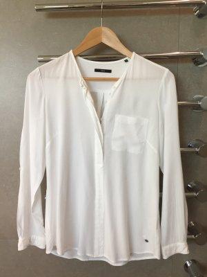 Weiße Bluse von Zero Größe 34