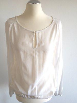 weiße Bluse von ZERO, NEU!