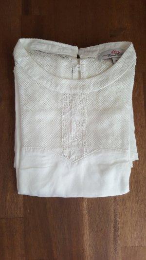 weiße Bluse / weißes Shirt von s.Oliver