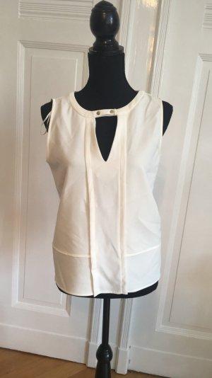 Weiße Bluse Zara Basic