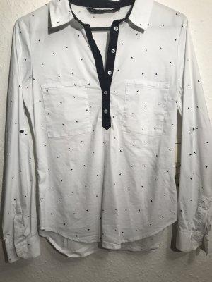 Zara Chemise blanc-noir