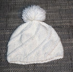 C&A Knitted Hat white