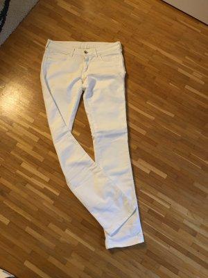 weiße Boot Cut Jeans von WRANGLER (W30/L34)