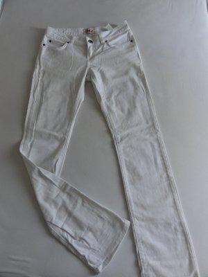 °°°Weisse Bootcut Jeans, Prince slim white Pant, neuwertig°°°