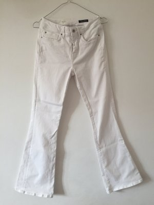 Tommy Hilfiger Boot Cut Jeans white cotton