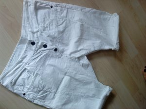 weiße Boyfriend - Shorts made in Italy 38
