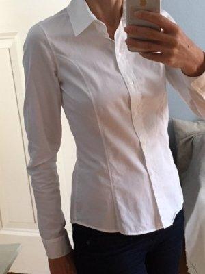 Weiße Business-Hemd-Bluse, Boss