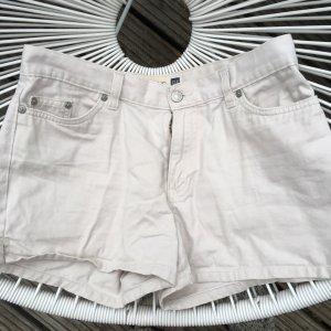 Weisse bzw. beige Shorts / Jeansshorts 36 S Gap