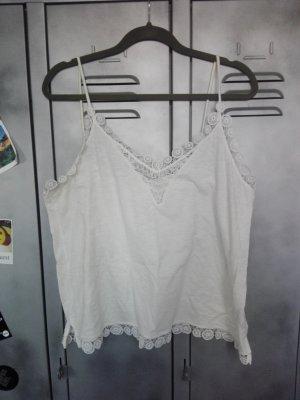 Weiße Camisole