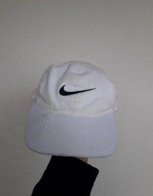 weiße cap nike