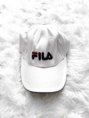 Weiße Cap von Fila Original