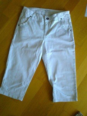 "Weiße Capri-Jeans v. ""Rick Cardona"", Gr. 38"