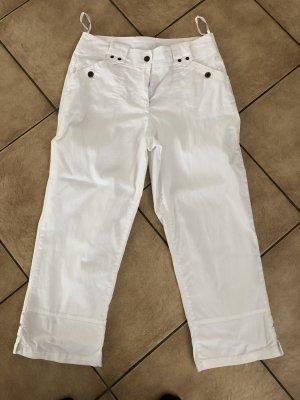 Weiße Caprihose / Shorts / Hose von Cheer - Gr. 38