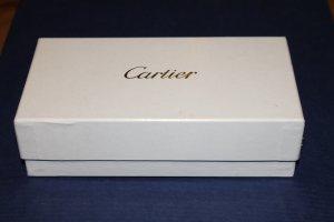 Weisse Cartier (Schmuck-)Box / Schatulle