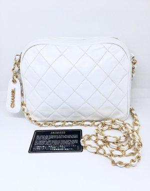 Chanel Bolsa de hombro blanco