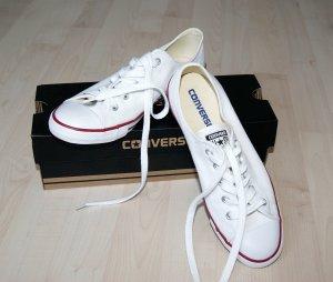Weiße Converse Chuck Taylor All Star Dainty - Nur einmal getragen!!