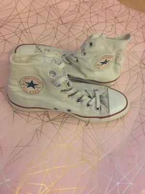 Weiße Converse Chucks