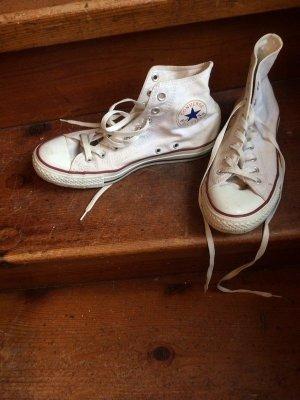 weiße Converse Chucks Gr. 42 / 8