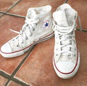 weiße Converse in top Zustand