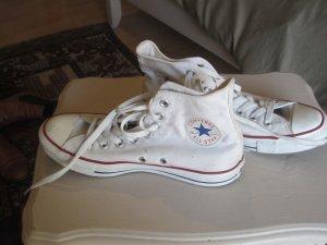 weiße Converse knöchelhoch