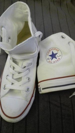 weiße Converse-Schuhe Gr 38