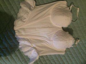 Weiße corsage von h&m, ungetragen