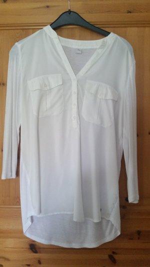 Weiße / Cremefarbene Bluse