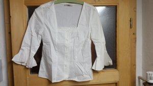 Weiße Damen Bluse größe 36