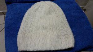 Weiße damen Mütze
