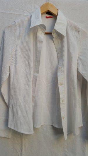 Otto Kern Camicetta a blusa bianco Cotone