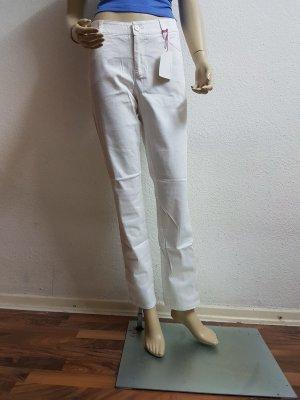 FlashLights Pantalone a vita bassa bianco