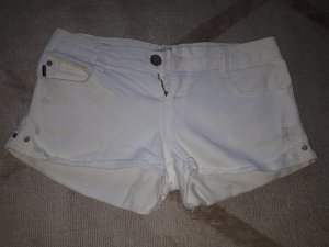Zara Trafaluc Hot pants bianco