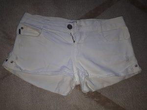 weisse Denim Hotpants 36