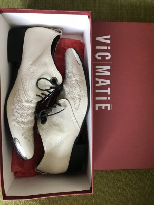 Vic Matie Business Shoes white leather