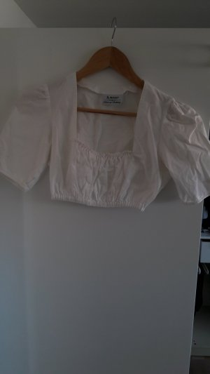 H.Moser Folkloristische blouse wit