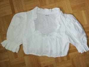 100 Camicetta a blusa bianco Cotone