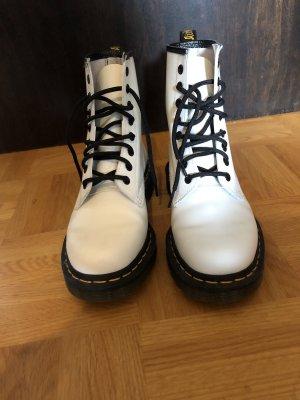 Dr. Martens Combat Boots white-black