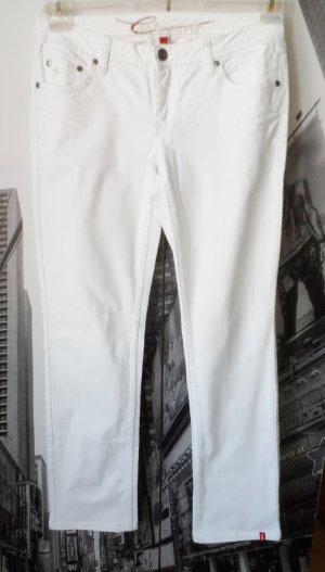 weiße EDC by Esprit Five Jeans W 30 long (L 34) nur wenig getragen